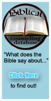 The Biblical Counseling Database